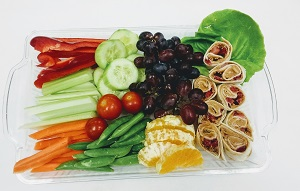 Appetizer Tray on Rectangle
