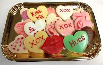 Valentine Message Cookies