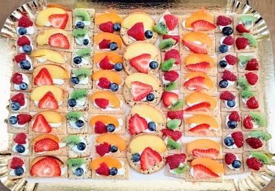 Fruit & Crackers