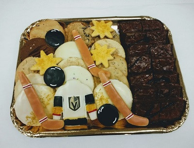 Golden Knights Tray