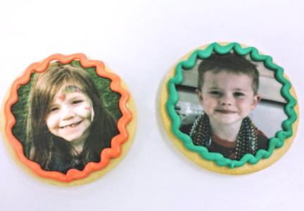 Kids Photo Cookies