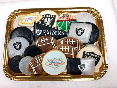 Raiders Cookie Tray