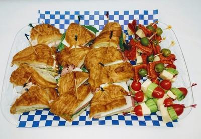 Croissant Slices & Stacks