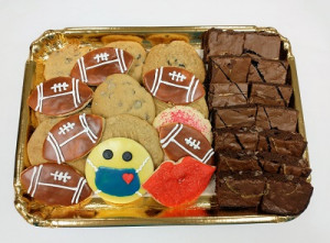 Cookies, Brownies & Footballs