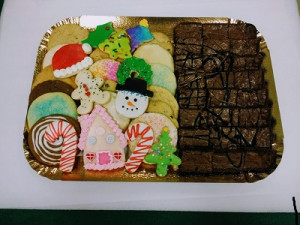 Holiday Cookie Brownies