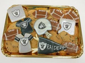 Raiders Cookie Tray