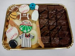 Sports Cookie Brownies