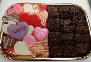Valetnine Extra Brownies