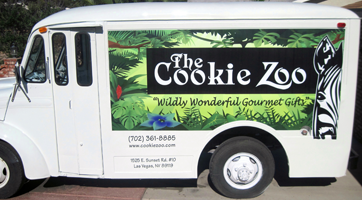 cookie zoo truck